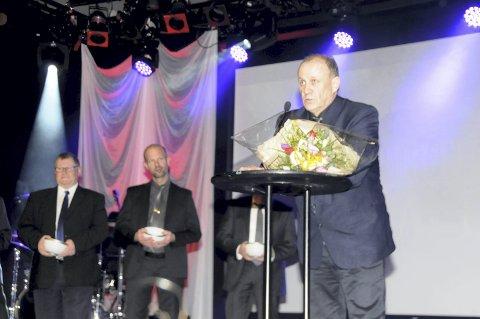 HEDERSMANN: Jens Ørnulf Klausen, Kragerø har gjort en uvurderlig jobb for idretten gjennom 40 år.ALLE FOTO: FRODE BERG