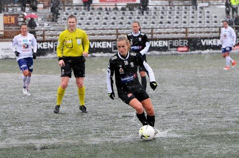 NY KAPTEIN: Melissa Wiik-Kovacs overtar kapteinsbindet. FOTO: Kristian Holtan
