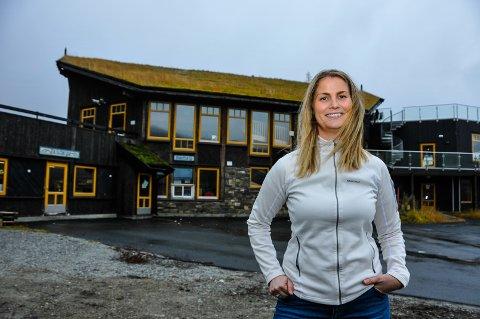 OVERTOK I ÅR: 1. januar i år overtok Stine Bastlien Vinje som daglig leder på Haukelifjell skisenter.