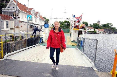 Nye medier: Blogg, podkast og en gjesteopptreden på TV venter for programleder og journalist Line Victoria Husby Sørensen fra Bamble.