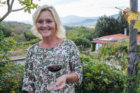 TOSCANA: Acquapendente ligger i Lazio på grensen til Syd-Toscana. - Prisene i Toscana er ganske annerledes enn her, forteller hun.