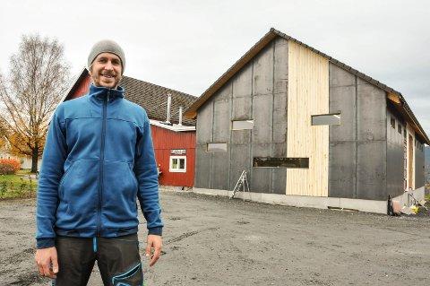 STAS:Ølbrygger Eivin Eilertsensynes det er hyggelig og bli lagt merke til.