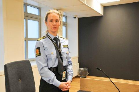 AKTOR: Politiadvokat Kristin Synnøve Drågen var en av to aktorer i saken, hvor det ble lagt ned påstand om to år og åtte måneders fengsel, en straff retten også landet på. 34-åringen ble forsvart av advokat Espen Refstie.