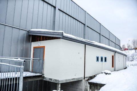 TEKNISK ROM: Det tekniske rommet/ventilasjonsrommet hvor rumeneren fikk sove, var i denne delen av Kviteseidhallen.