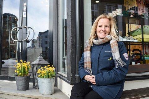 PORSGRUNN FRISTET MER: – Jeg trives godt i jobben i Sandefjord, men da denne stillingen dukket opp i Porsgrunn, ble jeg veldig fristet til å søke, sier Ebba Friis Eriksen. Hun er i dag arealplansjef i Sandefjord kommune.