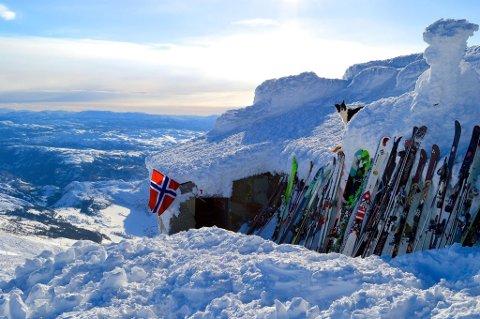 FORS KIFRELSTE: Å stå på ski ned fra toppen er en stor opplevelse.