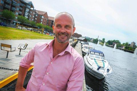 SLUTTER: Kurt Olsen Karsten gir seg som festivalleder.