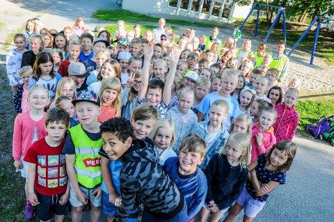 SPREKINGER: Elever på Venstøp skole