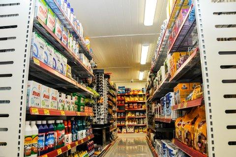 FULLSORTIMENT: Butikken har det meste av det man er på jakt etter i en butikk.
