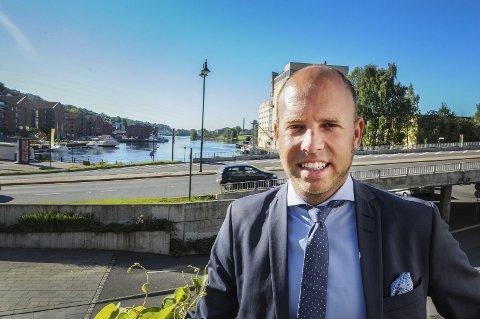 GOD FART: Emil Eriksrød og R8 Property AS har god flyt viser de siste tallene i regnskapet.
