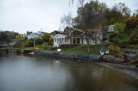 NEI: Statsforvalteren i Agder sier nei til dispensasjon for påbygget som allerede er reist i Ulesund.