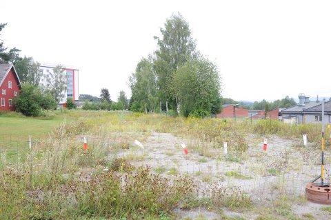 BOLIGER KOMMER: I dette området i Skien, nær travbanen, kommer det nye boliger neste år.