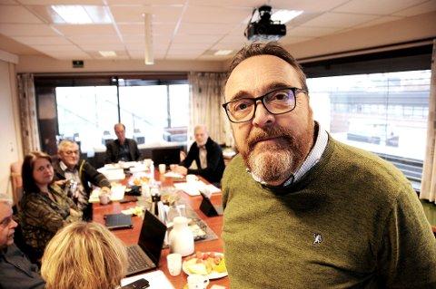 I KONTROLLUTVALGET: Rådmannen i Skien, Ole Magnus Stensrud, forklarte seg i kontrollutvalget fredag om gaven til Odd på 400 000 kroner.