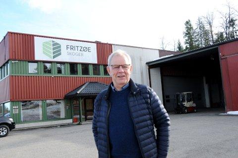 SA JA SAMMEN MED DE ANDRE: Ordfører Kjell Sølverød og de andre politikerne i formannskapet sa ja til den nye planen til Fritzøe skoger.