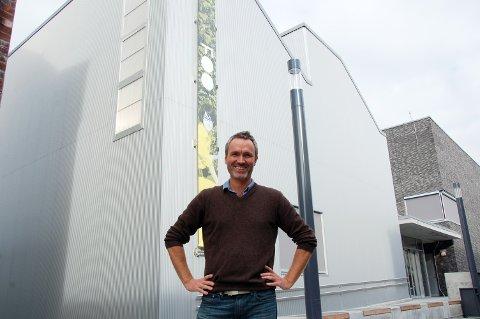 SA NEI: Andreas Rishovd ønsket ikke å vise Vebjørn Sands bilder i Kunsthall Grenland. Det skapte debatt i PDs spalter.