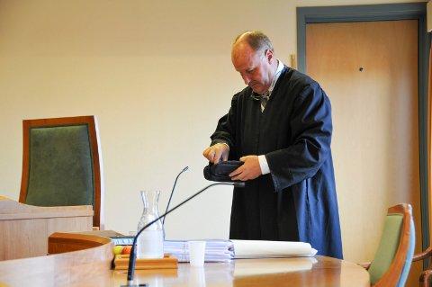FORSVARER: Advokat Oscar Ihlebæk forsvarte den tiltalte kvinnen.