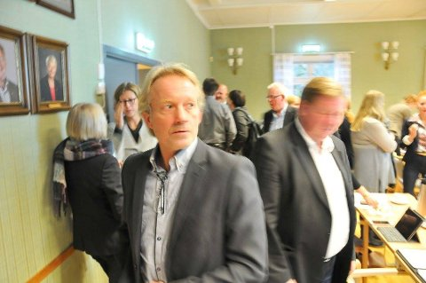 LØNNSOMHET: Banksjef Jan Kleppe sier bankens lønnsomhet må opp.