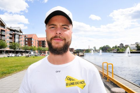 NYTT KAPITTEL: Sander Svendsens opphold i Odd er over. Nå venter et nytt kapittel i angriperens karriere - i dansk fotball. Foto: Kristian Holtan