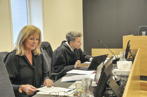 FRA RETTSSAKEN: Heidi Ysen var bistandsadvokat for den fornærmede kvinnen, mens statsadvokat Håvard Kalvåg var aktor i rettssaken, som gikk i lagmannsretten i midten av januar.