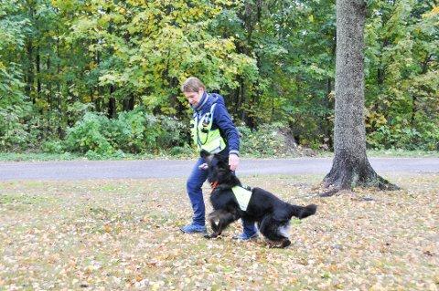 – IKKE ALLE ER EGNET: Anne Cahtrine Ramberg Honston sier at ikke alle hunder er egnet til å bli redningshunder. Hun har også tidligere hatt en godkjent redningshund, men det er 15 år siden.