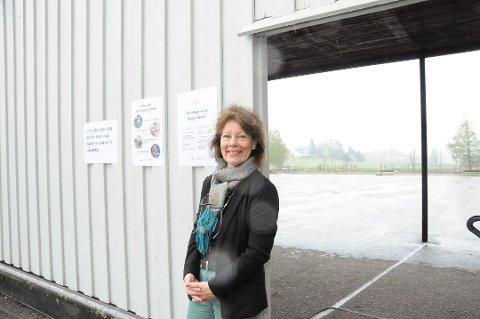 SMITTE: Rektor Bente Slettemo bekrefter smittetilfelle ved skolen.