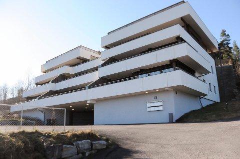 STÅR TOMT: De åtte leilighetene i Faråsen terrasse står fortsatt tomme.