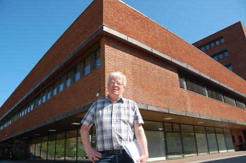 LYS FRAMTID: Kontorbygg-sjefen, Knut Wille, ser lyst på framtiden selv om fjoråret hadde sine utfordringer.