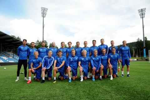 SPENNENDE: 11 nye spillere er på plass i NFK-drakta - ni utenfra og to fra egen junioravdeling.