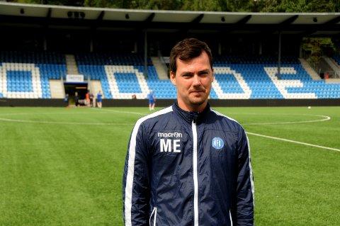 BRUTAL START: Unge Magnus Erga og hans nye Notodden FK har fått et brutalt møte med 2. divisjon etter fire serierunder.
