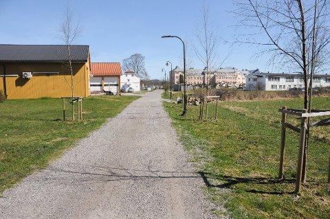 MULIGHETER HER: På sykehusets tomt øst for Faret og mot Elstrømbrua åpnes det for småhus/hardbrukshus for individer med utfordrende adferd.