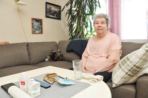 HJEMME IGJEN: Sigrid Aasheim (85) levde i beste velgående, da familien kom ut og trodde at hun lå for døden. - Jeg håper virkelig at ingen andre opplever noe sånt, sier Aasheim.