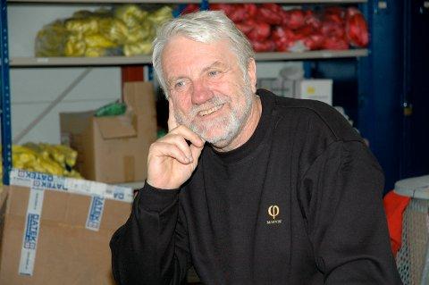 Arild Gundersen har vært en driftig person innen næringslivet i Kragerø, og ikke minst på Helle. Her er han fotografert i forbindelse med et nyhetsoppslag i 2008.