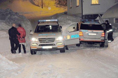 SAMFUNNSVERN: Kvinnen ble pågrepet på drapsåstedet i Langesund den 28. januar 2014. Denne uka samtykket hun selv til at dommen til tvungen psykisk helsevern opprettholdes videre.