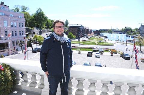 JOBBER PÅ: Leder i UKIFF, Odin Adelsten Aunan Bohmann, jobber blant annet med en toppidrettstrategi.