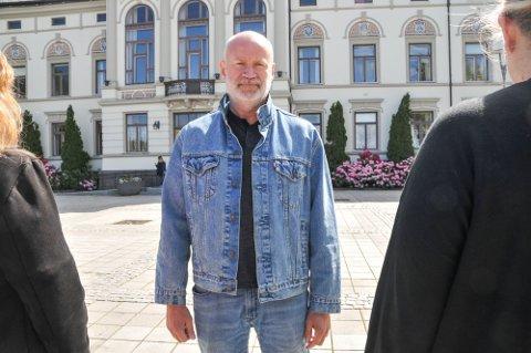 STØRRE ENN VENSTRE: Demokratene i Telemark er nå større enn Venstre i Telemark, noe partiets leder i Vestfold og Telemark, Henning Yven er godt fornøyd med.