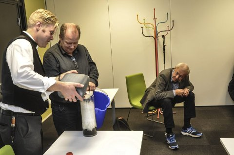 I gang: Torgeir Straand og hans makker Asmund Buen.