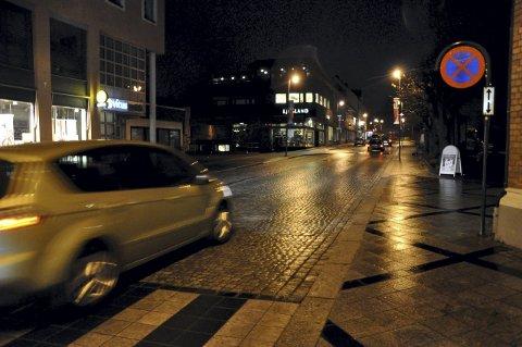 Sentrum: Operasjonsleder Ole Kamben opplyser at voldsepisoden skjedde på et utested i Notodden sentrum. (Illustrasjonsfoto)
