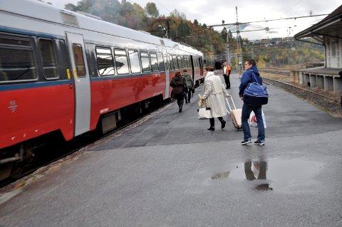 Innføringen av eltog har gitt resultater for Bratsbergbanen.