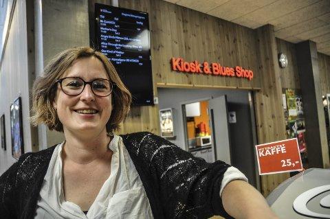 Fornøyd: Kinosjef Hilde Hem på Notodden er fornøyd med oppslutningen om formiddagskino.