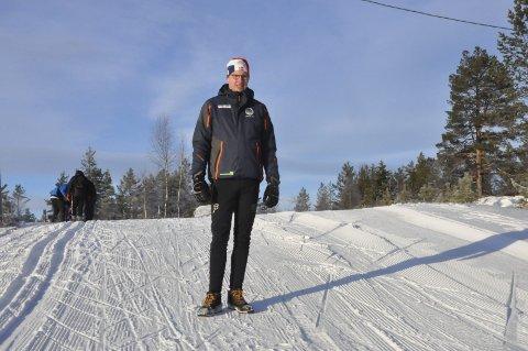 Gledelig overraskelse: Ole Christian Golid i Heddal IL ser på NRKs dekning av Heddalsprinten som noe utrolig positivt for både byen, bygda og klubben.