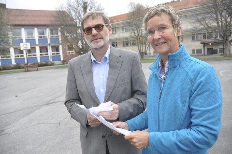 Bygger: Hanne Thürmer og Knut Duesund: - Vi bygger, ikke bare prater om det!