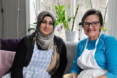 Amnah og Grete Frantzen Tortveit