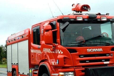 Brannbil brannvesen brann illustrasjon