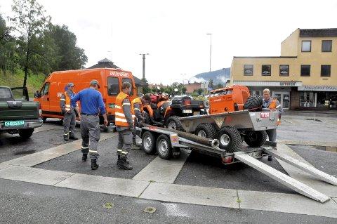 BEREDSKAP: Sivilforsvaret er en av brikkene når katastrofer og kriser rammes. Notodden er nå best i beredskap i Telemark.