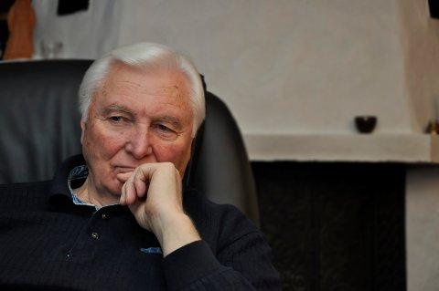 NY LEDER: Årsmøtet valgte Svein Halvard Sem (snart 80) til ny leder for Notodden Senterparti.
