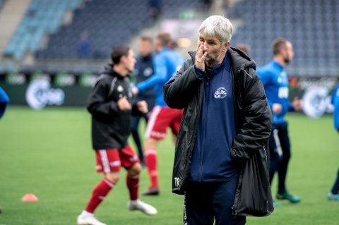 Florøs trener Terje Andre Rognsø har et enkelt utgangspunkt før kampen mot Notodden.