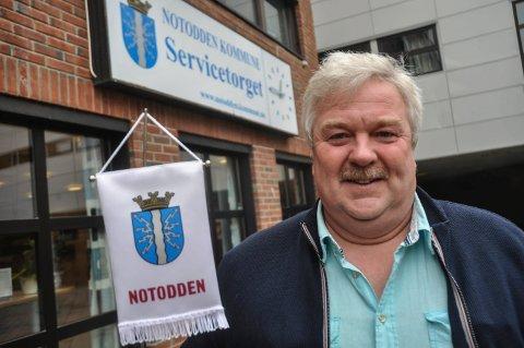 VIL BEHOLDE: Flertallet i formannskapet og varaordfører Torgeir Bakken vil beholde Teletunet omsorgssenter på Notodden.
