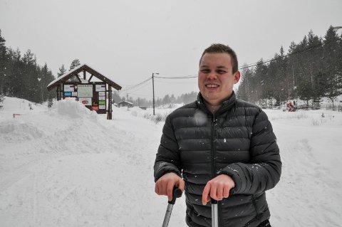 Lars Halvor Simones sier Grønkjær Helsesportsenter kan bli lagt ned.