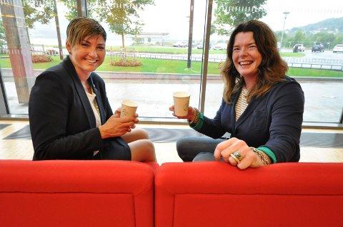 SPØRSMÅL: Ordfører Gry Fuglestveit etablerte ordningen med den røde sofaen i Notodden bibliotek hos Karen Hagen & co.