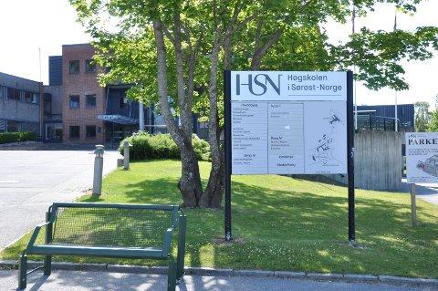 NY STATUS: Høgskolen i Sørøst-Norge døpes nå om til Universitetet i Sørøst-Norge.
